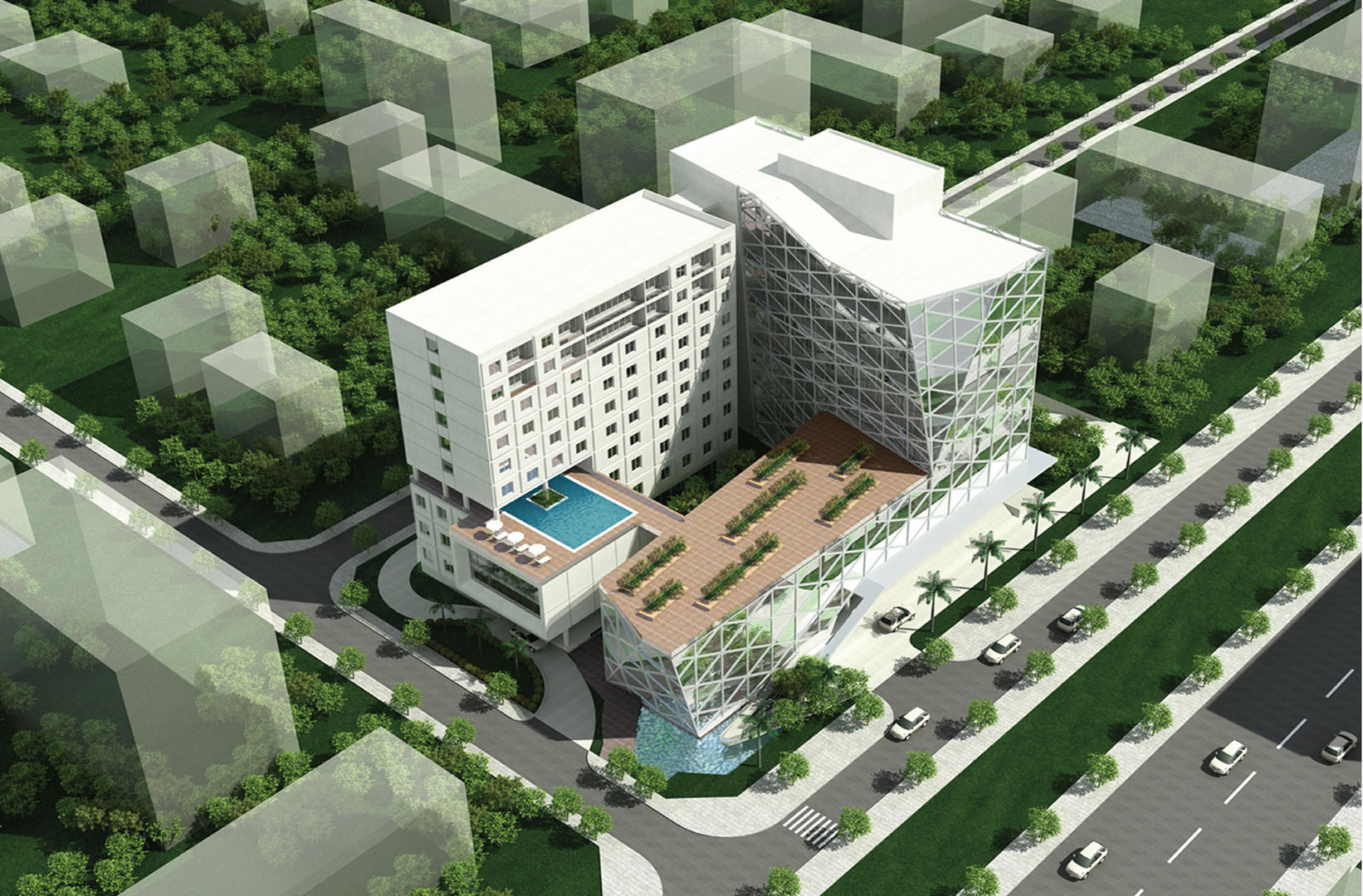 TRANG BOM HOTEL | Dong Nai | Architecture | Designed by DVNP Architects