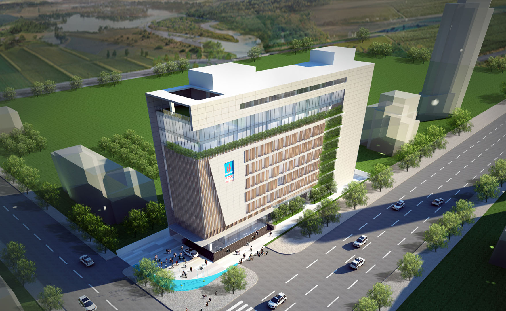 PTSC OFFICE | Vung Tau | Architecture Designed by DVNP Architects.