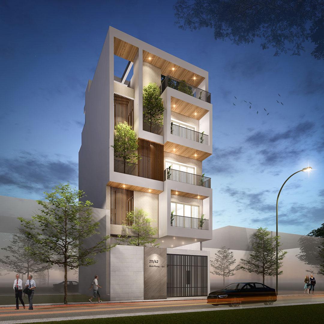 MP HOUSE   Ho Chi Minh City   Design & Build by DVNP Architects