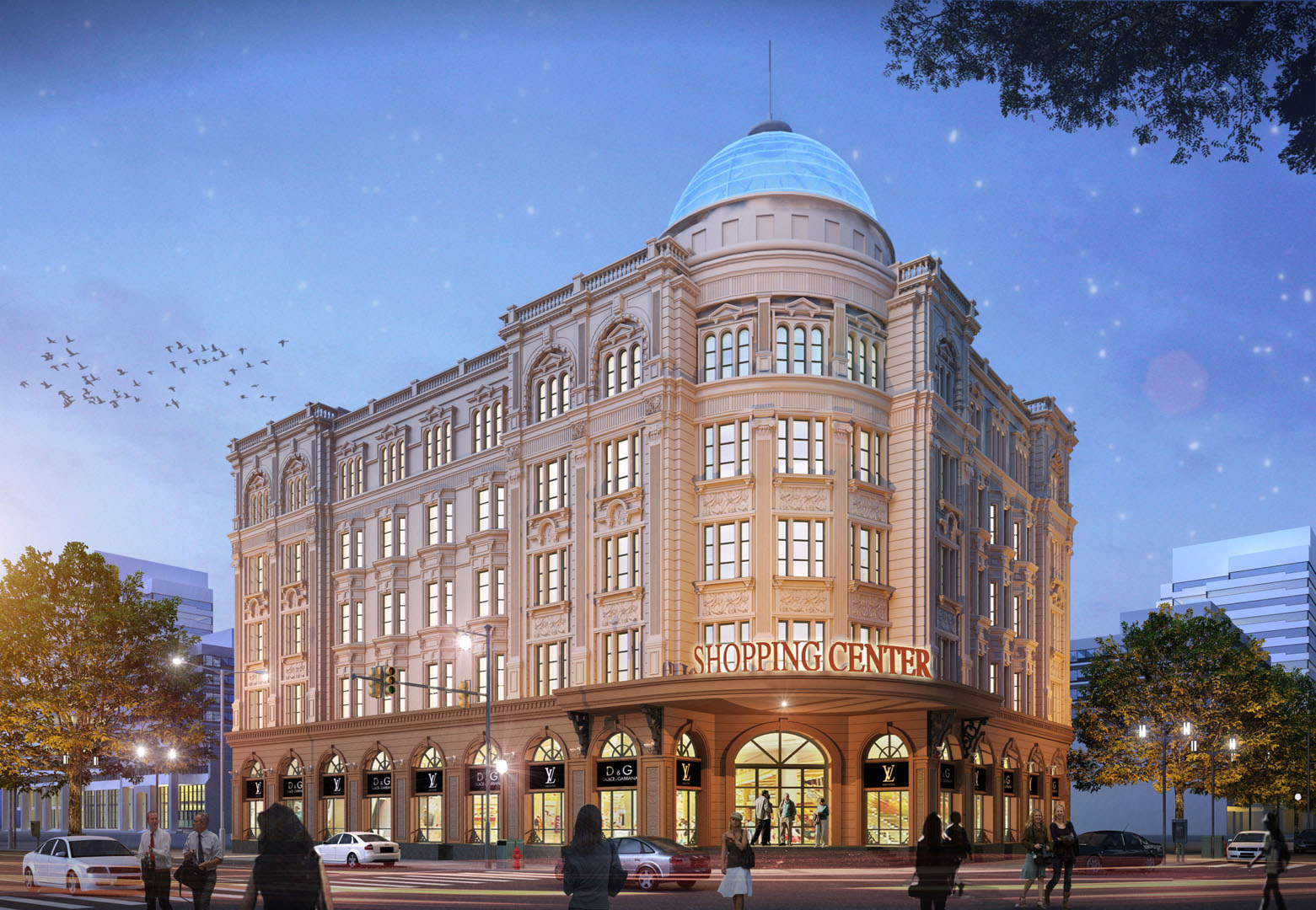 A LUXURY SHOPPING CENTER   Ho Chi Minh City   Concept Designed by DVNP Architects