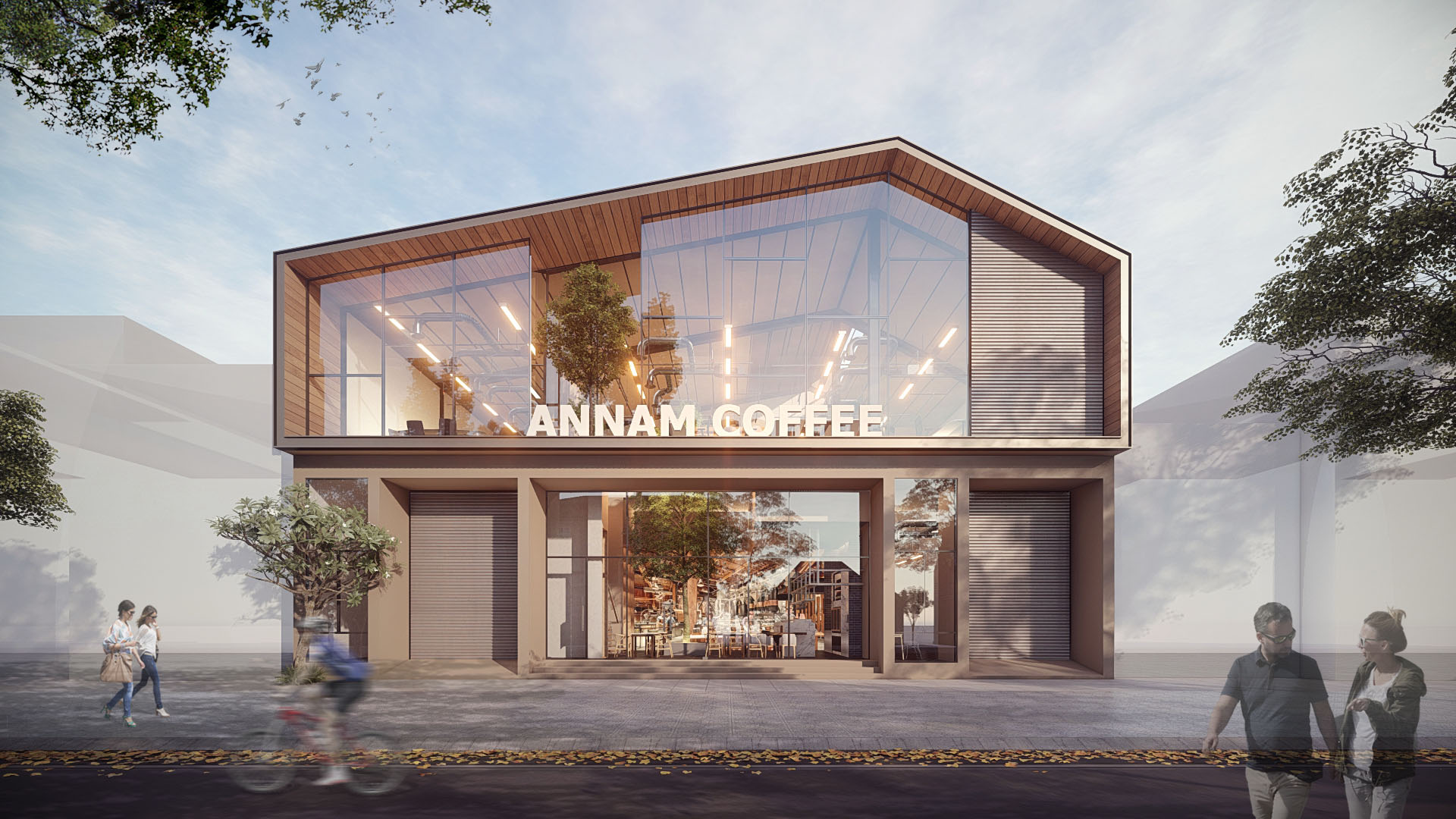 AN NAM COFFEE WORKSHOP | Binh Duong | Architecture & Interior Design | Designed by DVNP Architects