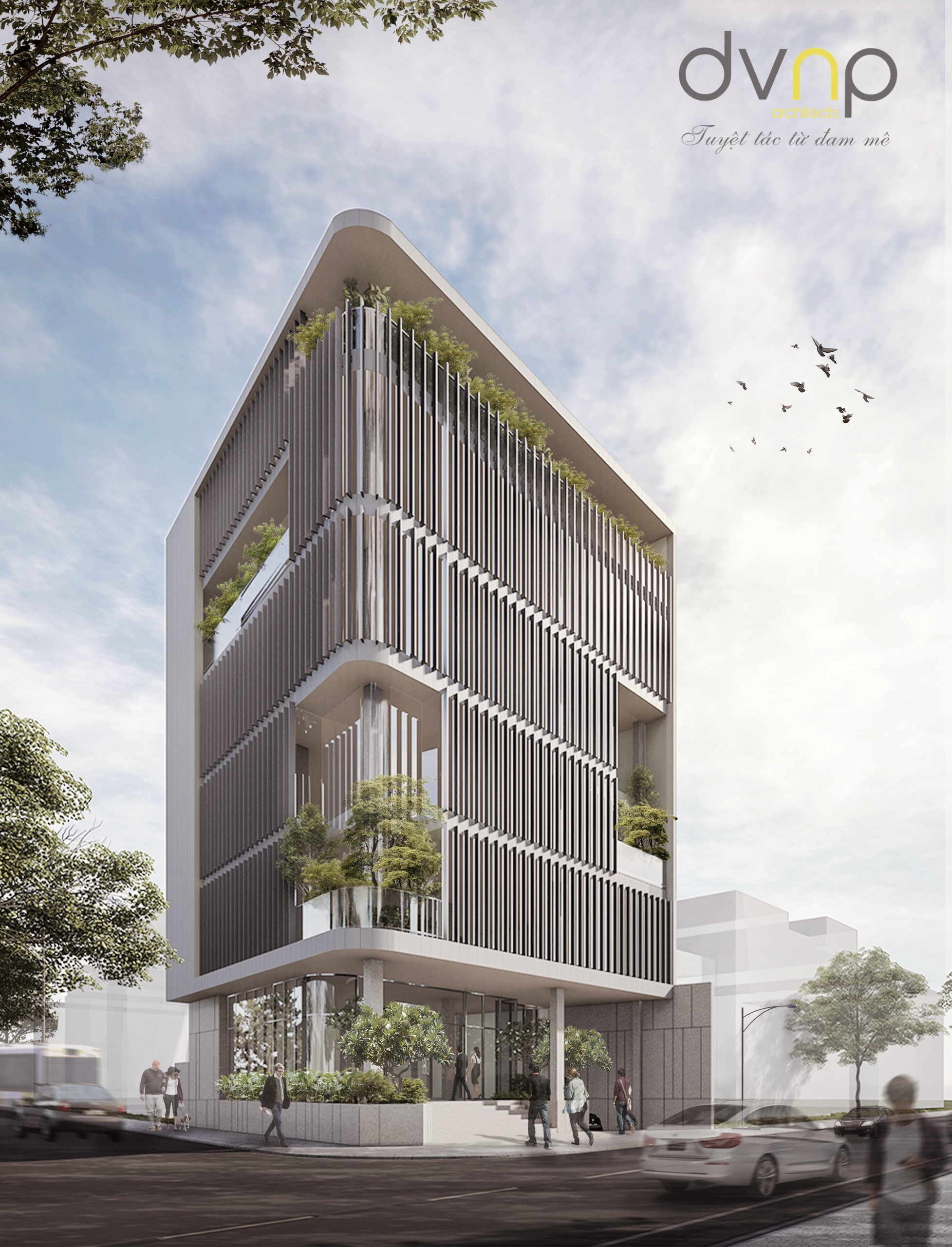 ADA Office | Binh Thanh | Architecture Design by DVNP